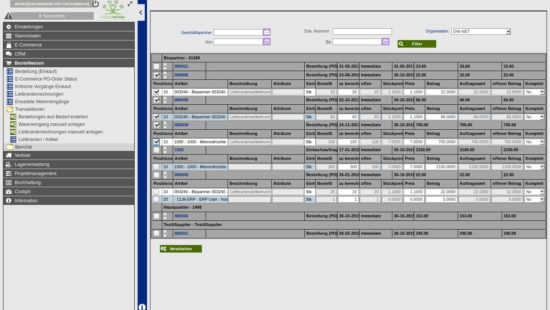 ERP Goodsentry from purchase orders