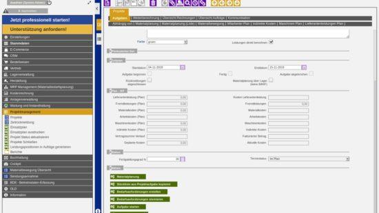 ERP Projectmanagement
