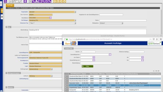 Create purchase orders from sales orders